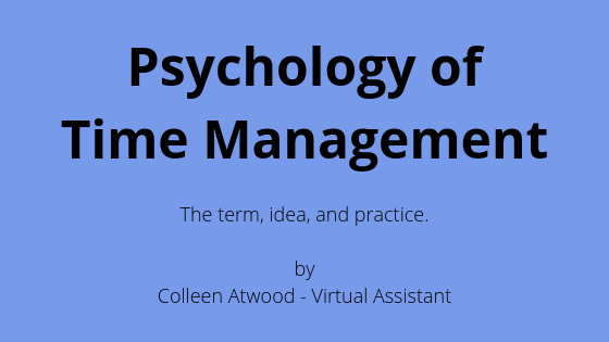 Psychology of Time Management